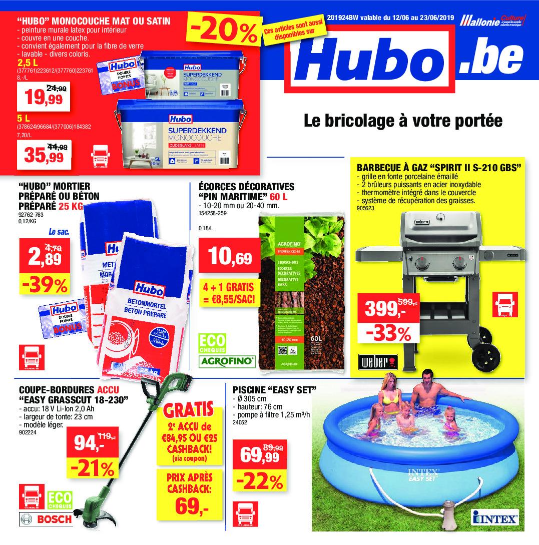 Hubo Dépliant Du 12 06 2019 Au 23 06 2019 Page 1
