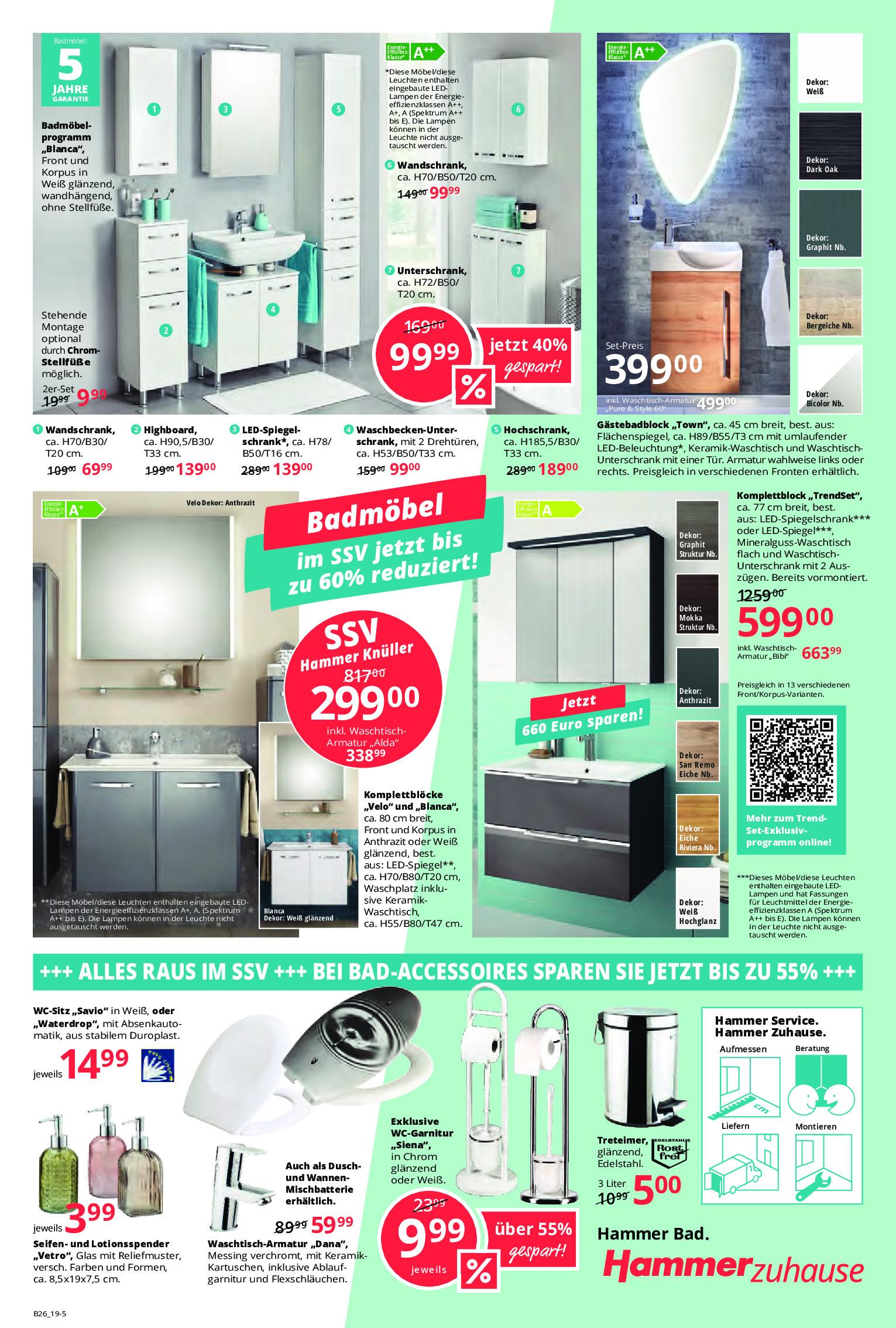 Hammer Fachmärkte Prospekt – Angebote ab 23.06.2019 bis ...