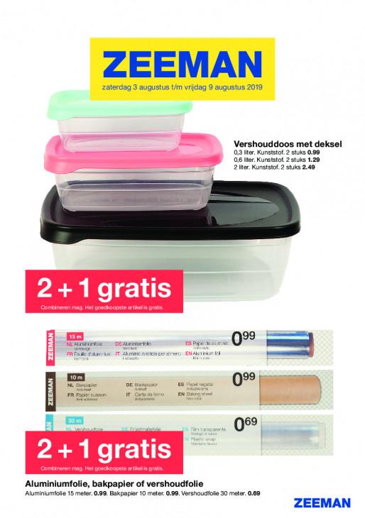34f297941a1 Zeeman | Wekelijks nieuwe folders van Nederlandse supermarkten en ...